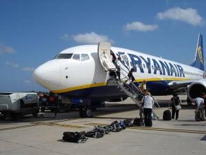 Ryanair en Pista