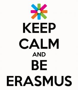Keep Calm Be Erasmus