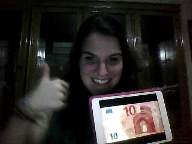 A falta de un billete de 10€, imaginación :P